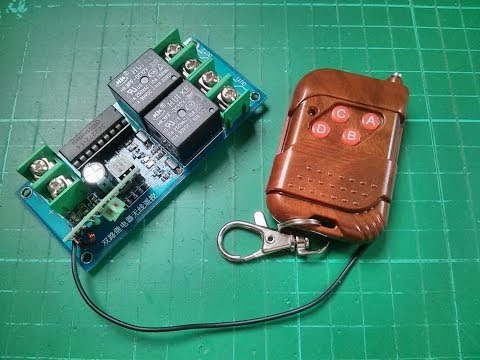 Review: 12v 2-Channel 315MHz Wireless Remote Control Module