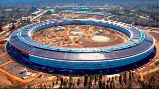 Apple Park  Новый КОСМИЧЕСКИЙ ОФИС ЭПЛ | Стив Джобс.