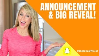 MY NEW DIET PROGRAM - Reveal & Big Announcement!!
