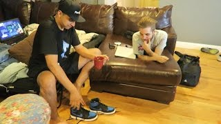 IM AT THE FAZE HOUSE - DAY IN THE LIFE | FaZe Rug