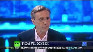 Thom Hartmann Takes Apart Dinesh D