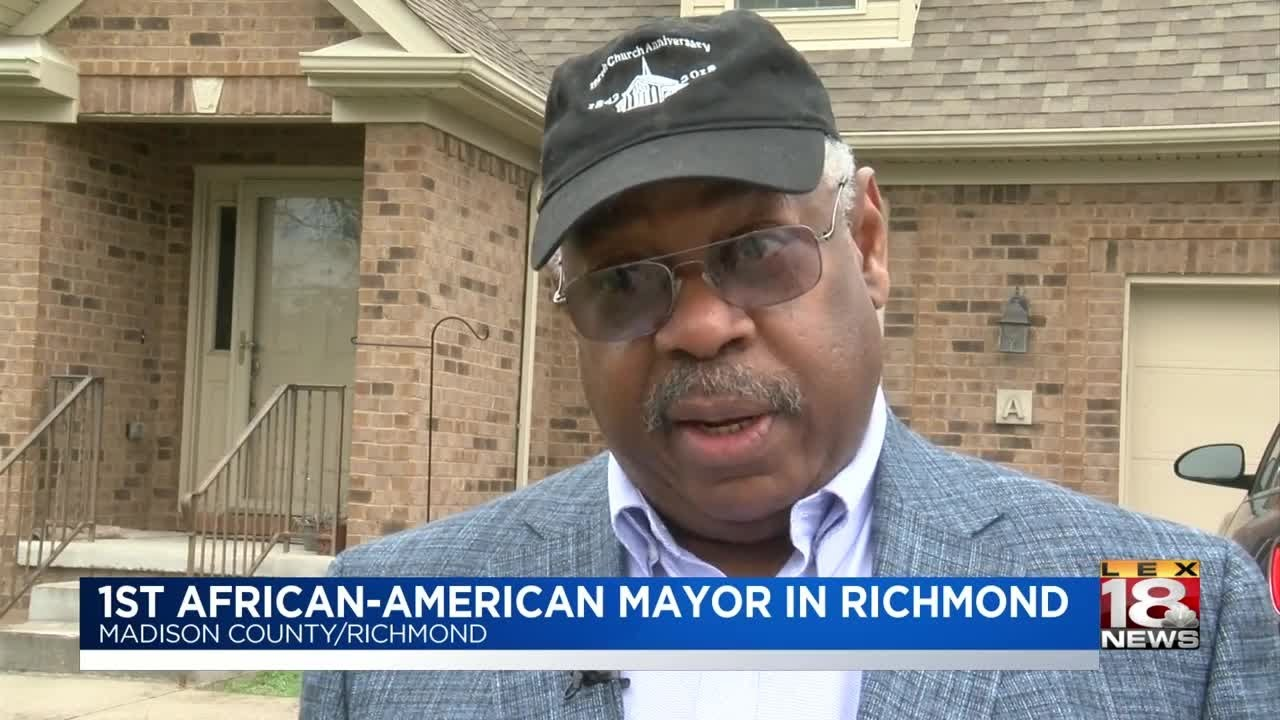1st African-American Mayor In Richmond