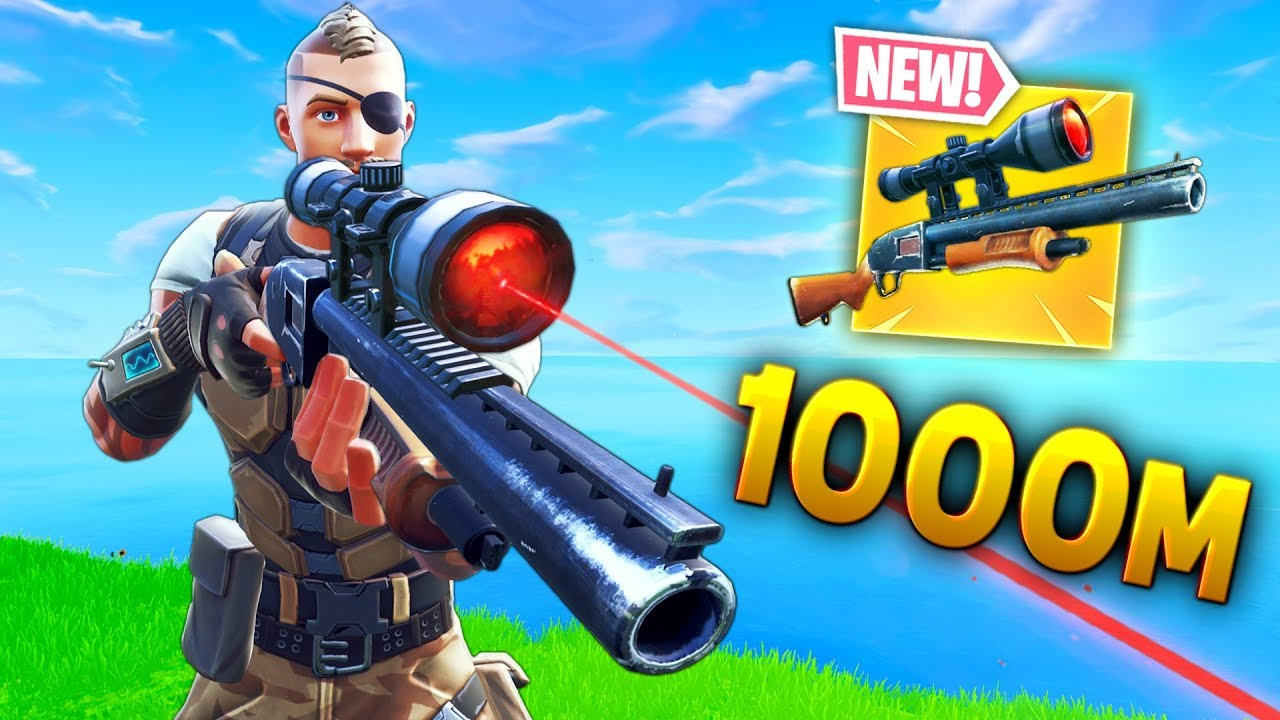 *NEW* RECORD 1000m SHOTGUN KILL!! - Fortnite Funny WTF Fails and Daily Best Moments Ep. 929