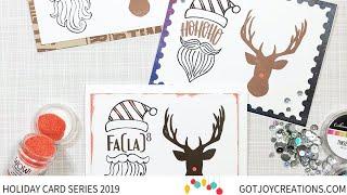 Gambar cover Got Joy Holiday Card Series 2019 - Guest Designer Josefine Fourage