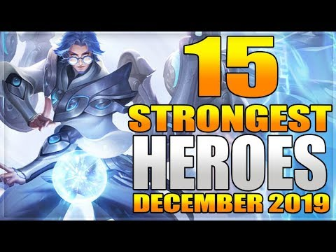 15 Strongest Heroes BEST For Solo RANKING In Mobile Legends Before Silvanna & Cecilion