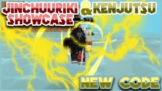 [NEW CODE] SHOWCASING ALL KENJUTSU MOVE SET  [059] JINCHUURIKI CLOAK MODE OP?!   ROBLOX NRPG- Beyond