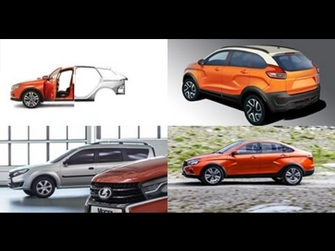 Новости АВТОВАЗа / News Of AVTOVAZ   2016: Универсал LADA Vesta , Lada XCODE , Lada Largus рестайл