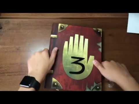 Обзор дневника 3 из Гравити фолз 1 часть