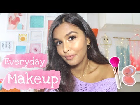 My Everyday Makeup Routine (No Foundation) / 5 Minute Makeup