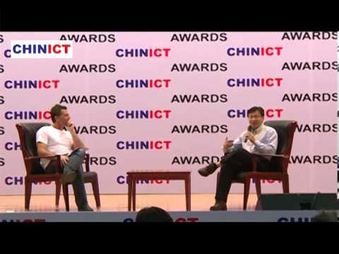 Tencent's GM Dylan Huang talks with Franck Nazikian, founder of CHINICT.