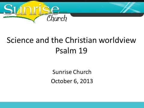 Science And The Christian Worldview