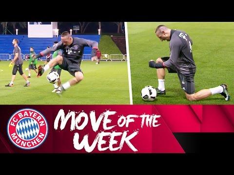 Franck Ribéry Skills   FC Bayern Move of the Week   Doha 2017