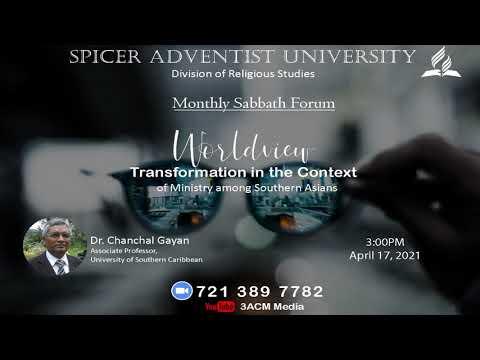 Sabbath Forum Promo on April 17, 2021 @3:00 PM
