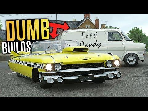DUMB Car Builds in Forza Horizon 4! thumbnail