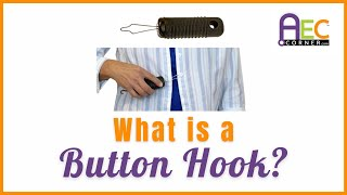 How to Button a Shirt with One Hand - A Button Hook and How to Use It
