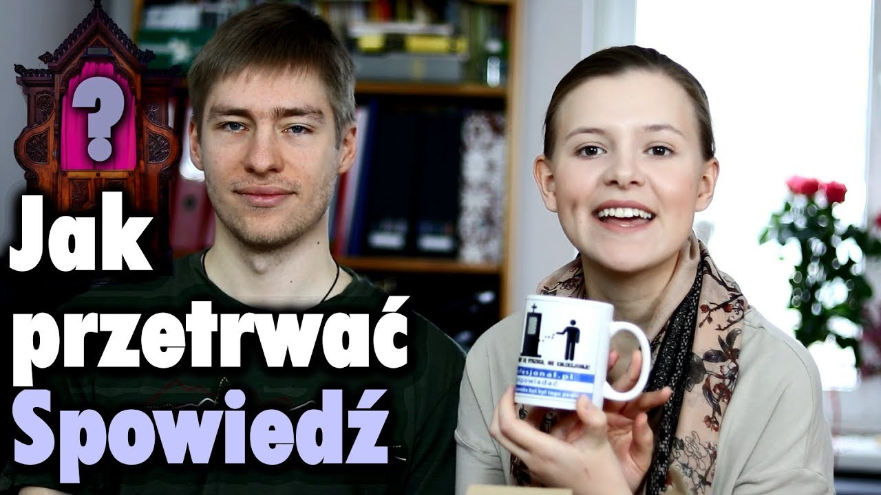 """Jak przetrwać spowiedź + Konkurs/Rozdanie kubków """"Mobilny konfesjonał"""""""