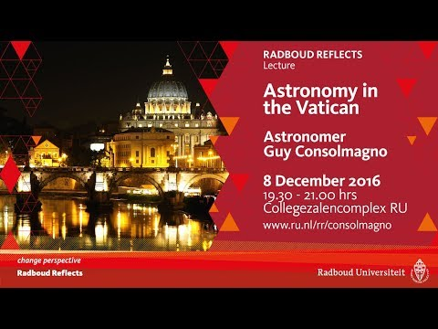 Astronomy in the Vatican | Lecture by astronomer Guy Consolmagno
