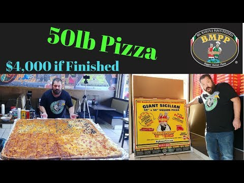 50lb Pizza $4,000 If Finished BMPP With Molly Schuyler Geoff Esper Magic Mikey