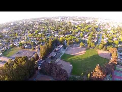 San Mateo, CA. from the Air.