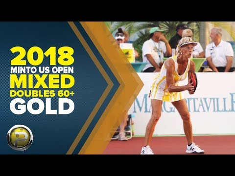 Mixed Doubles 60+ Gold Medal Match From The 2018 Minto US Open Pickleball Championships
