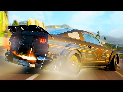 DE MEEST EXTREME FORD MUSTANG OOIT! - Forza Horizon 4 thumbnail