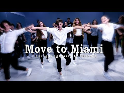 Enrique Iglesias - MOVE TO MIAMI (Official Dance Video) ft. Pitbull