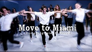 Enrique Iglesias Move To Miami Official Dance Audio Ft Pitbull