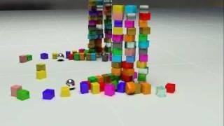 Кубики. физика