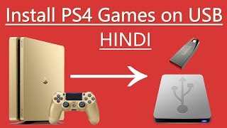 How to install PS4 games on USB in Hindi