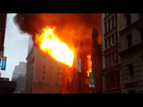Fire at Serbian Orthodox Cathedral of St. Sava - May 1st 2016