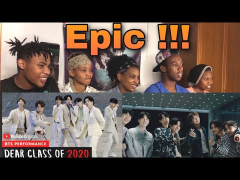 AFRICANS REACT TO BTS | Dear Class Of 2020 PERFORMANCE
