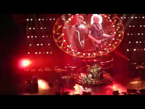 Queen + Adam Lambert - Tie Your Mother Down & Radio Ga Ga Shanghai 9/26/16