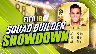 BARCELONA COUTINHO SQUAD BUILDER SHOWDOWN VS AJ3!!! - FIFA 18 UTLIMATE TEAM