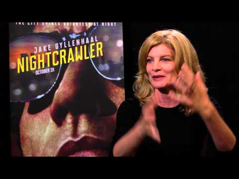 Rene Russo - NightCrawler Interview