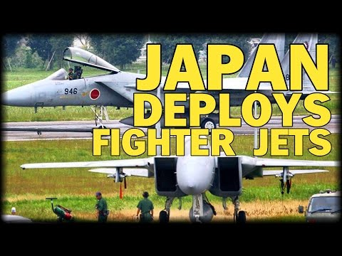 JAPAN DEPLOYS MORE FIGHTER JETS TO FACE CHINA