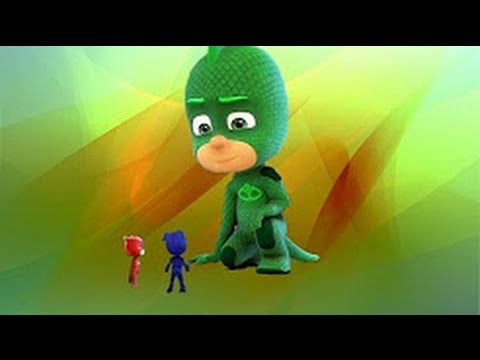 PJ Masks Full Episodes- 49 & 50 Super-Sized Gekko / Take to