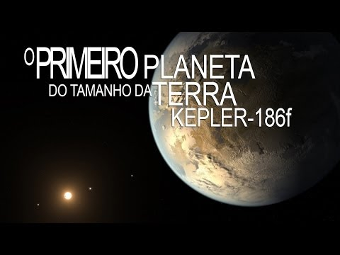 Kepler-186f - O Primeiro Planeta do Tamanho da Terra na Zona Habitável - HD