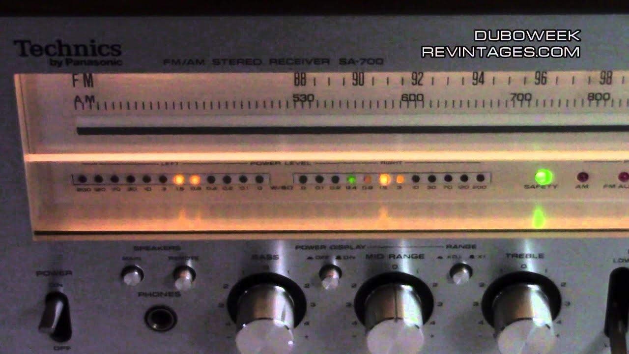 Technics Sa 200 Wiring Diagram Electrical Diagrams Lincoln 225 Welder 700 Receiver Youtube Arc
