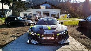 Audi R8 LMS 1000hp Gets Caught By Crapitalism Police