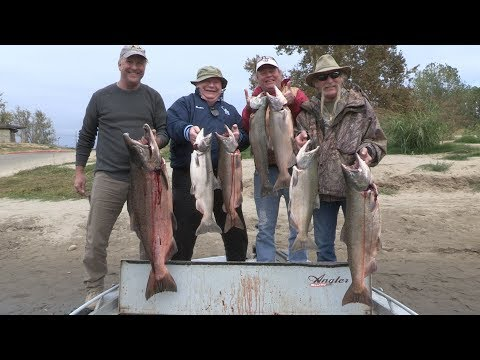 Feather River Late Fall Run Chinook Salmon Fishing