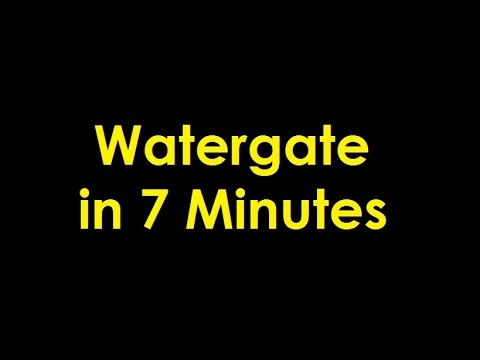 The Watergate Scandal in 7 Minutes
