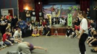 Stylez day vol.6 Sanchi vs 7tina hip-hop