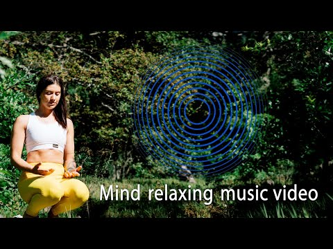 Motivational mind relaxing farming land scenery with cool music