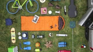 Diviértete en familia con una tarde de camping