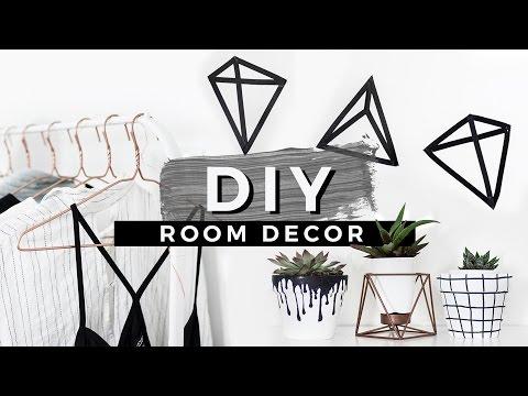 DIY Tumblr Room Decor! EASIEST DIYS EVER!