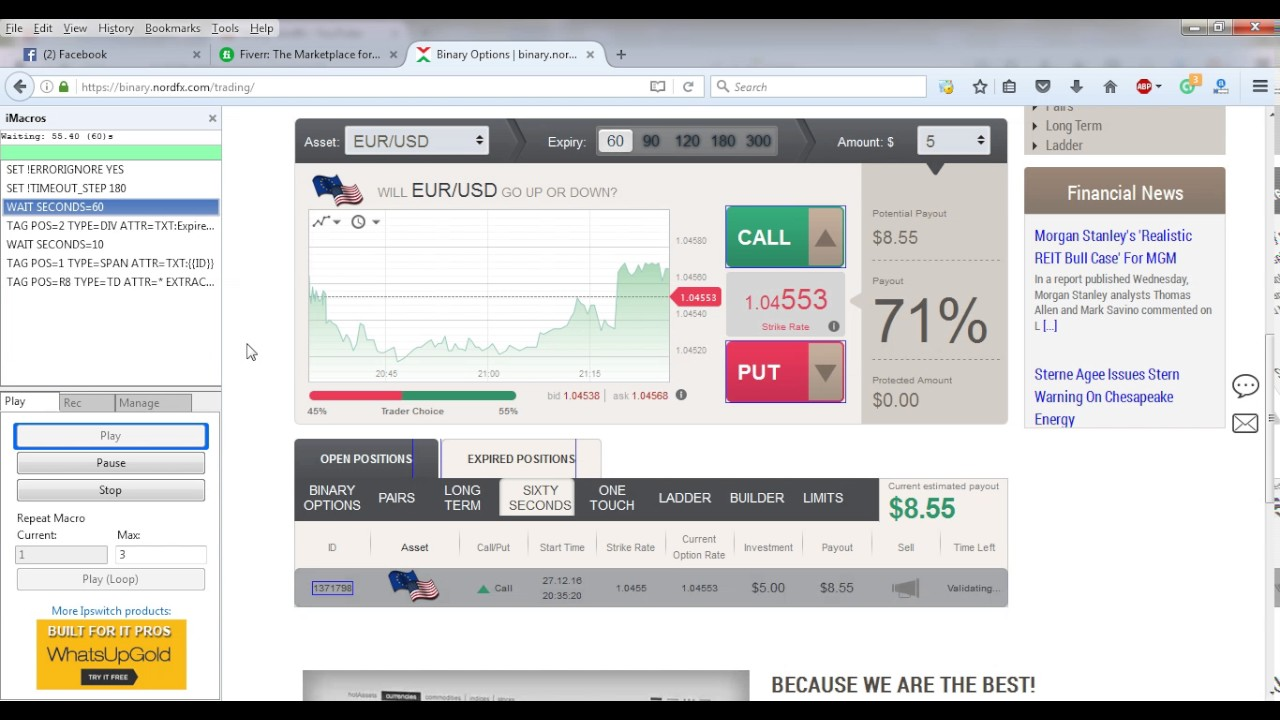 Nordfx binary options tmartn2 cs go betting reddit