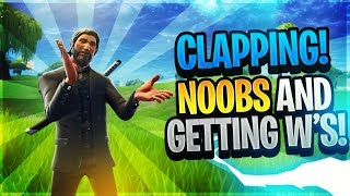 Clapping Noobs and Getting W's (Fortnite Mobile 14 Kill Solo Game)