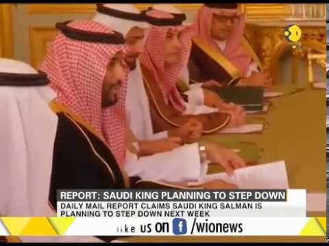 Report: Saudi King is planning to step down