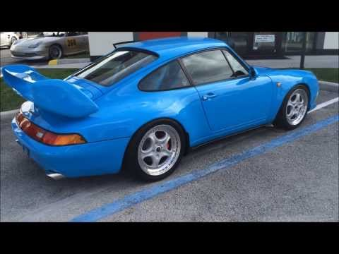 Porsche 993 Carrera RS Clubsport Tribute Build By TuneRS Motorsports.