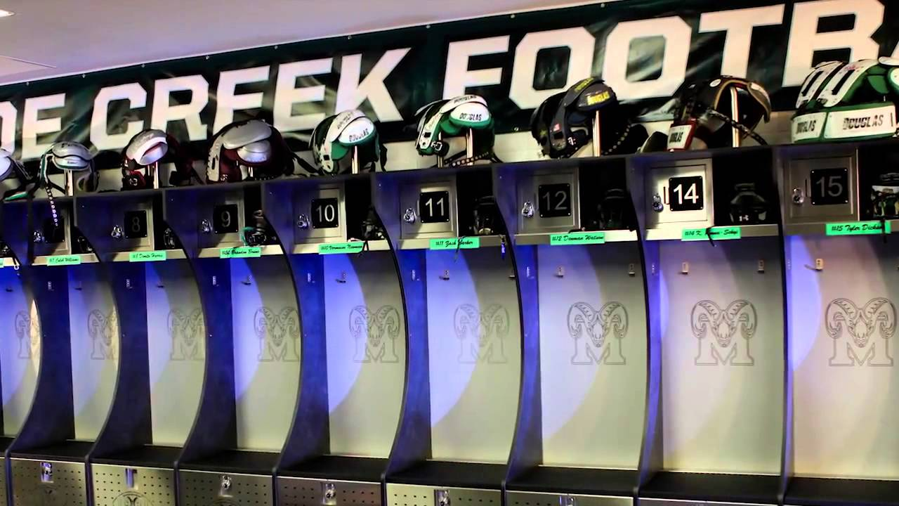 Football Decorating Ideas Locker Room